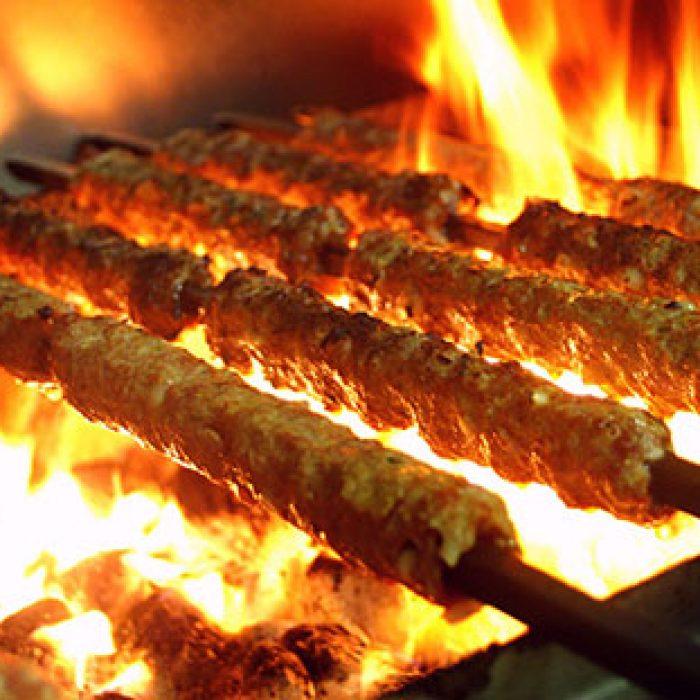 Tandoori Special-Kebabs on Charcoal